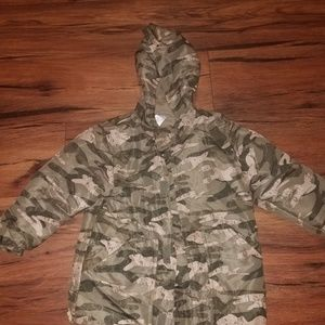 f0d0f232439cd Gymboree Jackets & Coats | Boys Camo Raincoat Size Xs 34 | Poshmark